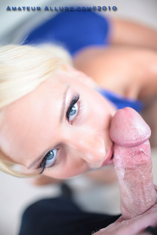 throat way Monster her cock down