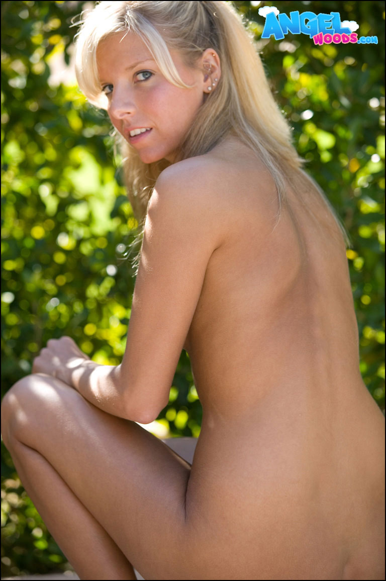 nude Angel pic woods