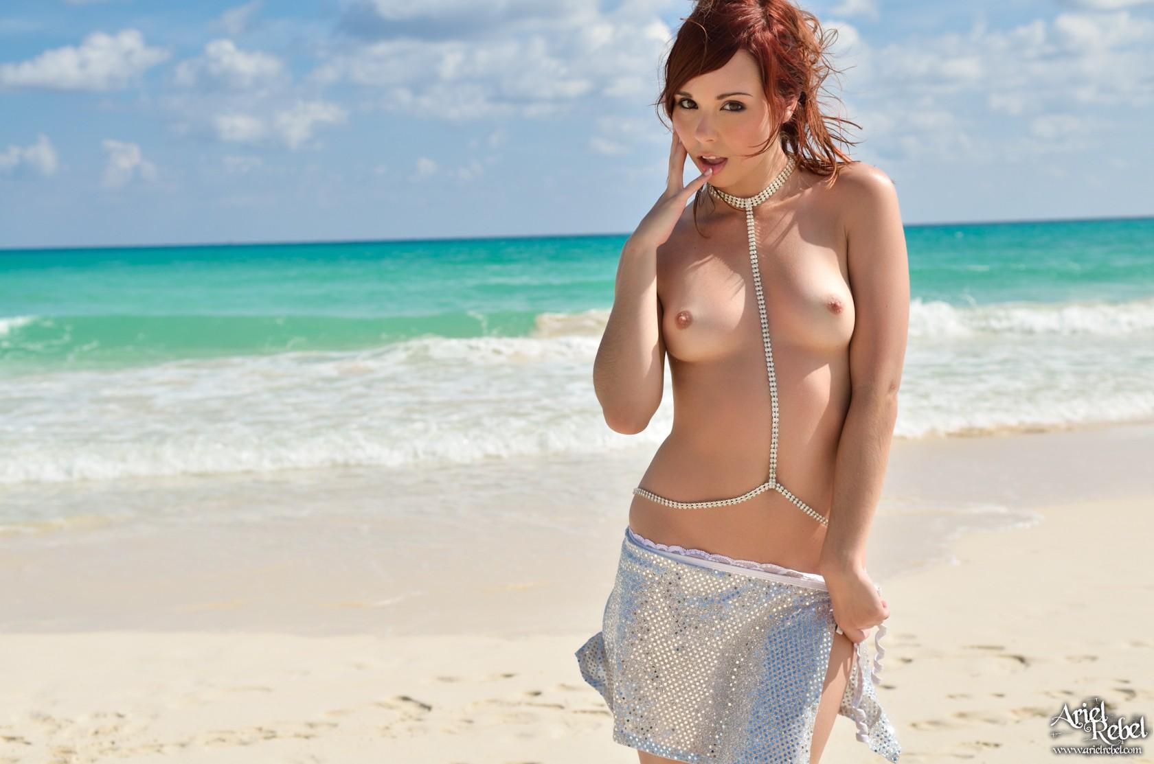 Ariel rebel naked beach