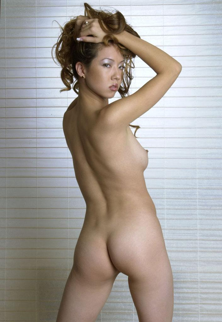 nude brown hair females