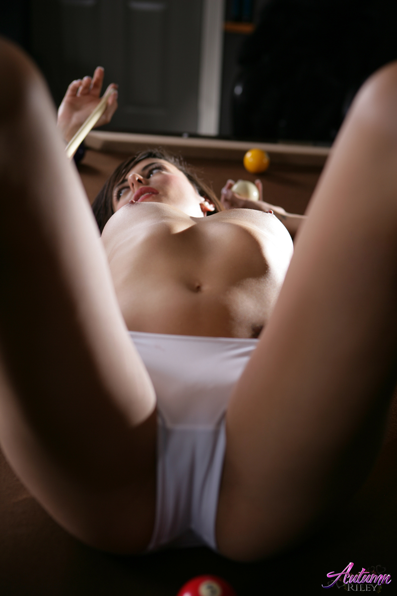Chick strips on billiard table