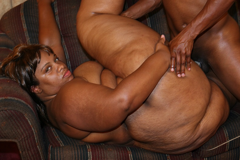 Fat ebony fucking