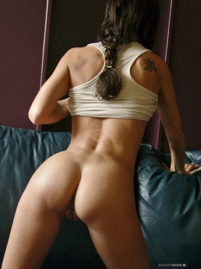 Sexy tank top girl nude