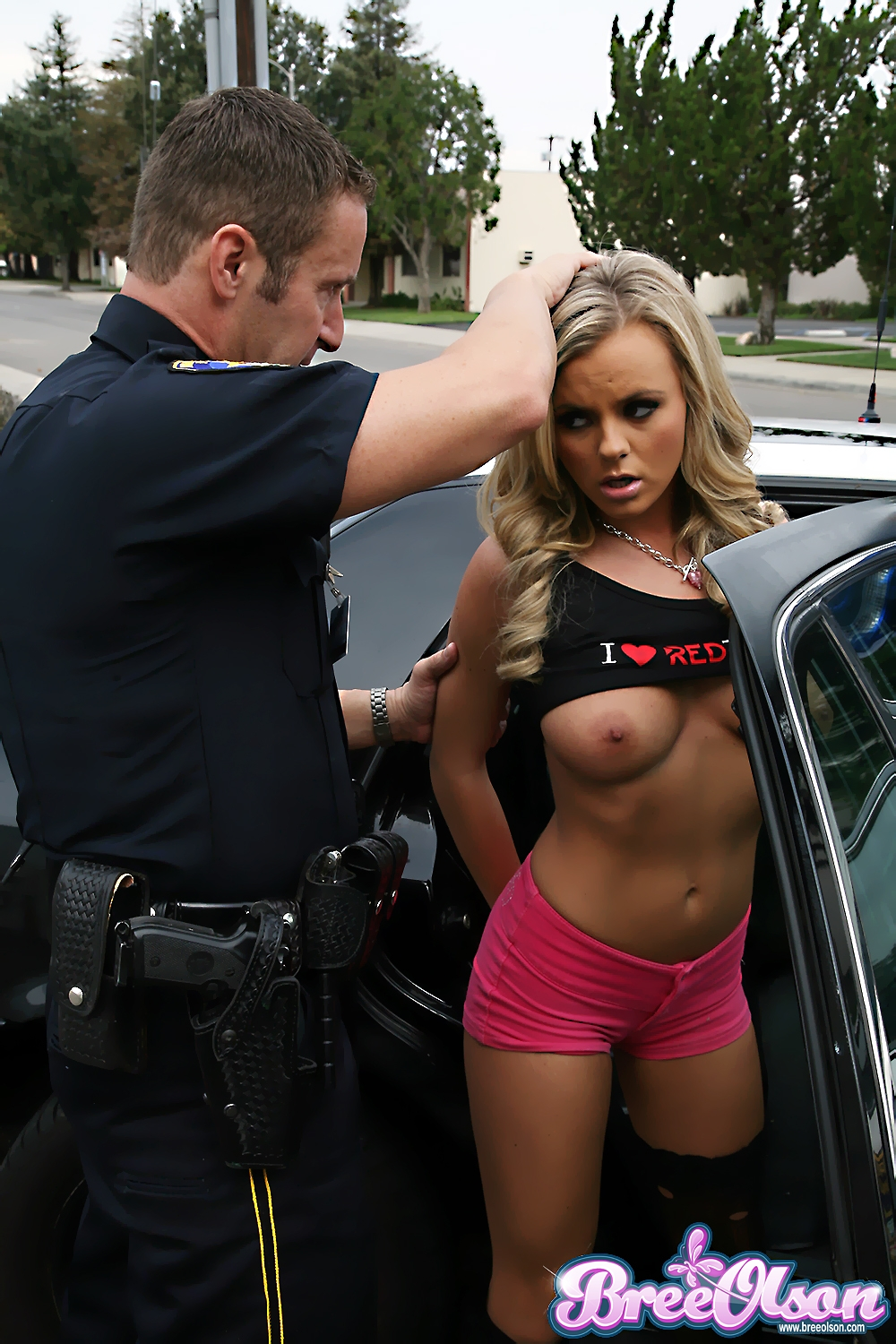 image Bree olson cop and amy reid police fuck we