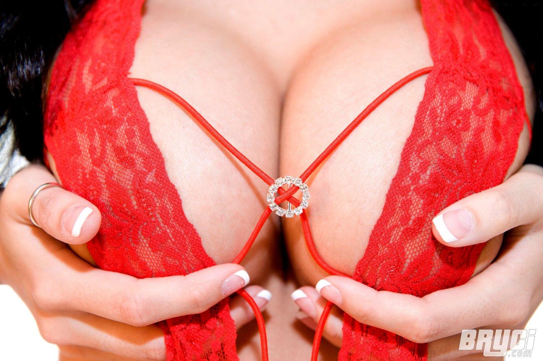 Redhead Big Tits Gangbang
