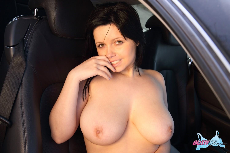 busty car