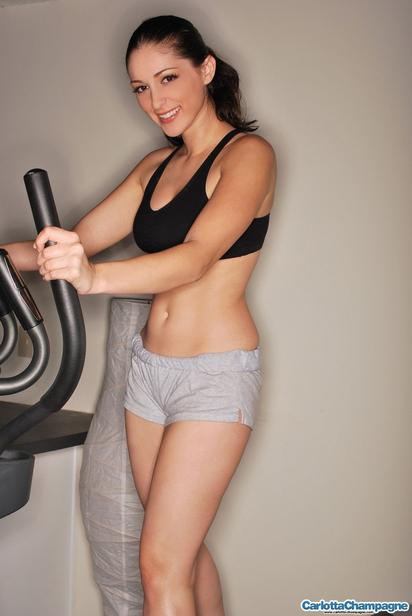 carlotta champagne nude workout 2 There are a number of wonderful hairstyles available for older women who ...