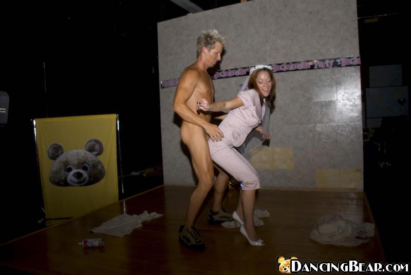 Girl gives handjobs