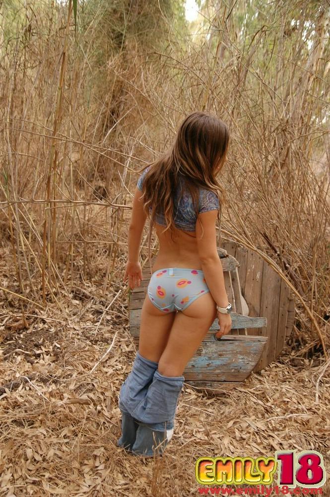 Emily Emily Topless Nature At Amateurindex Com