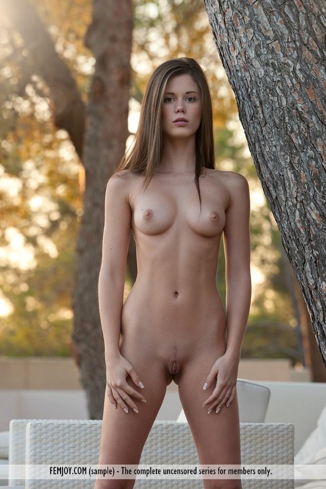 Femjoy - Naked Amateur Outside at AmateurIndex.com