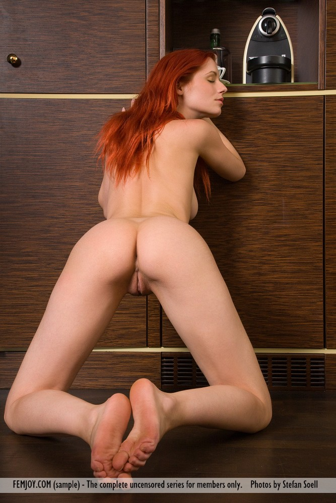 sexy red hair nude