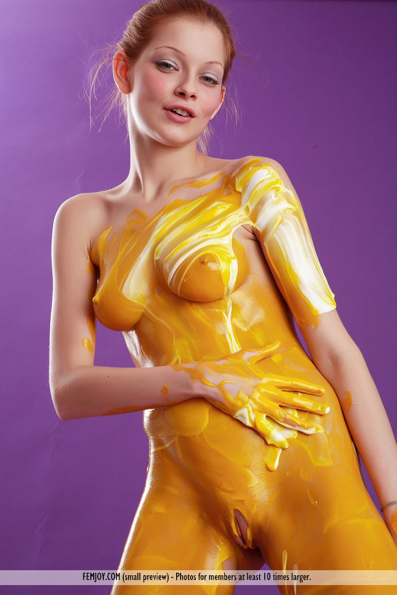 free body paint porn videos