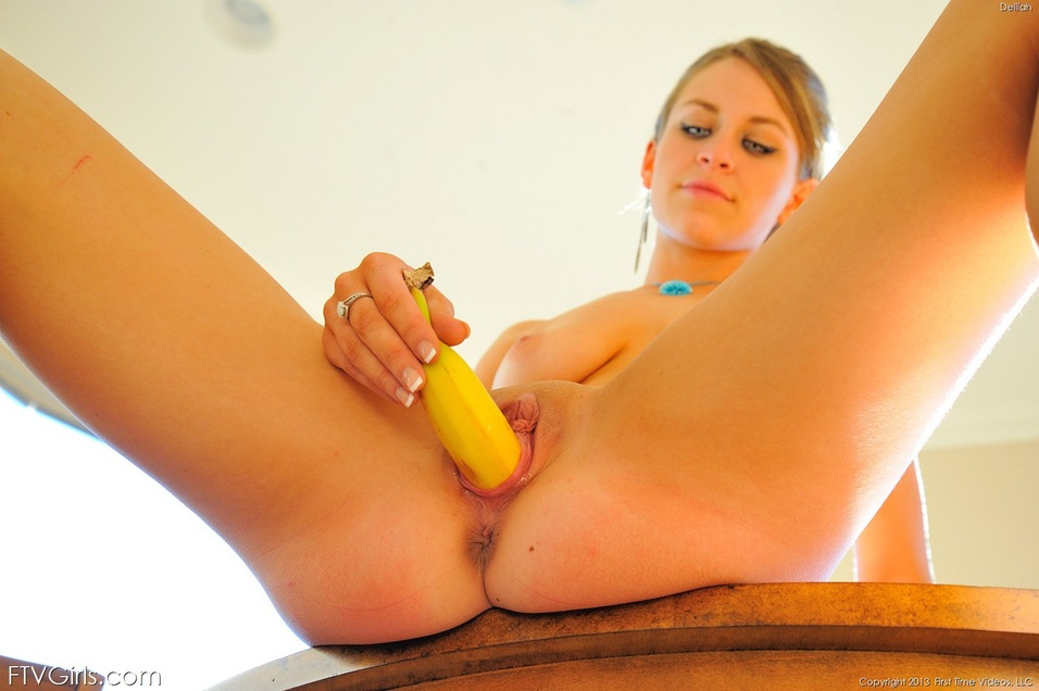 Porn Girl With Banana