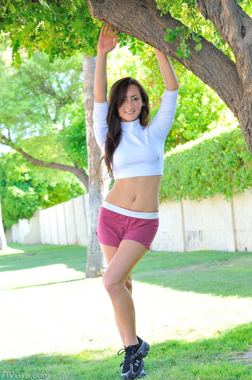 Naked coed sports video