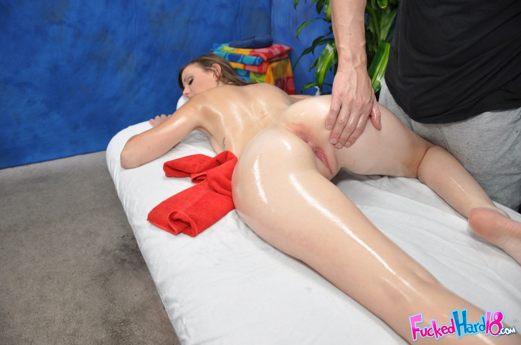 massage parlor with porn