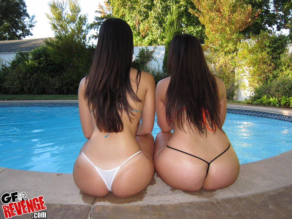 videos hot ex girlfriend bikini pool sweet