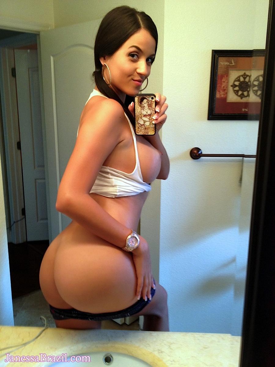 Long erect nipples