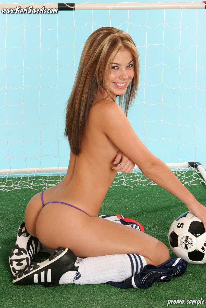 Sweets soccer girls sexy kari