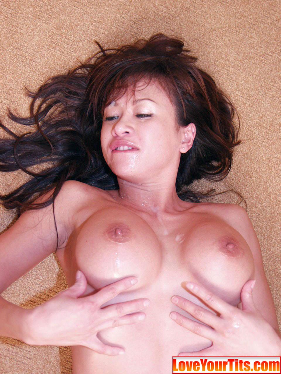 asian big tits blowjob Big beautiful tits!