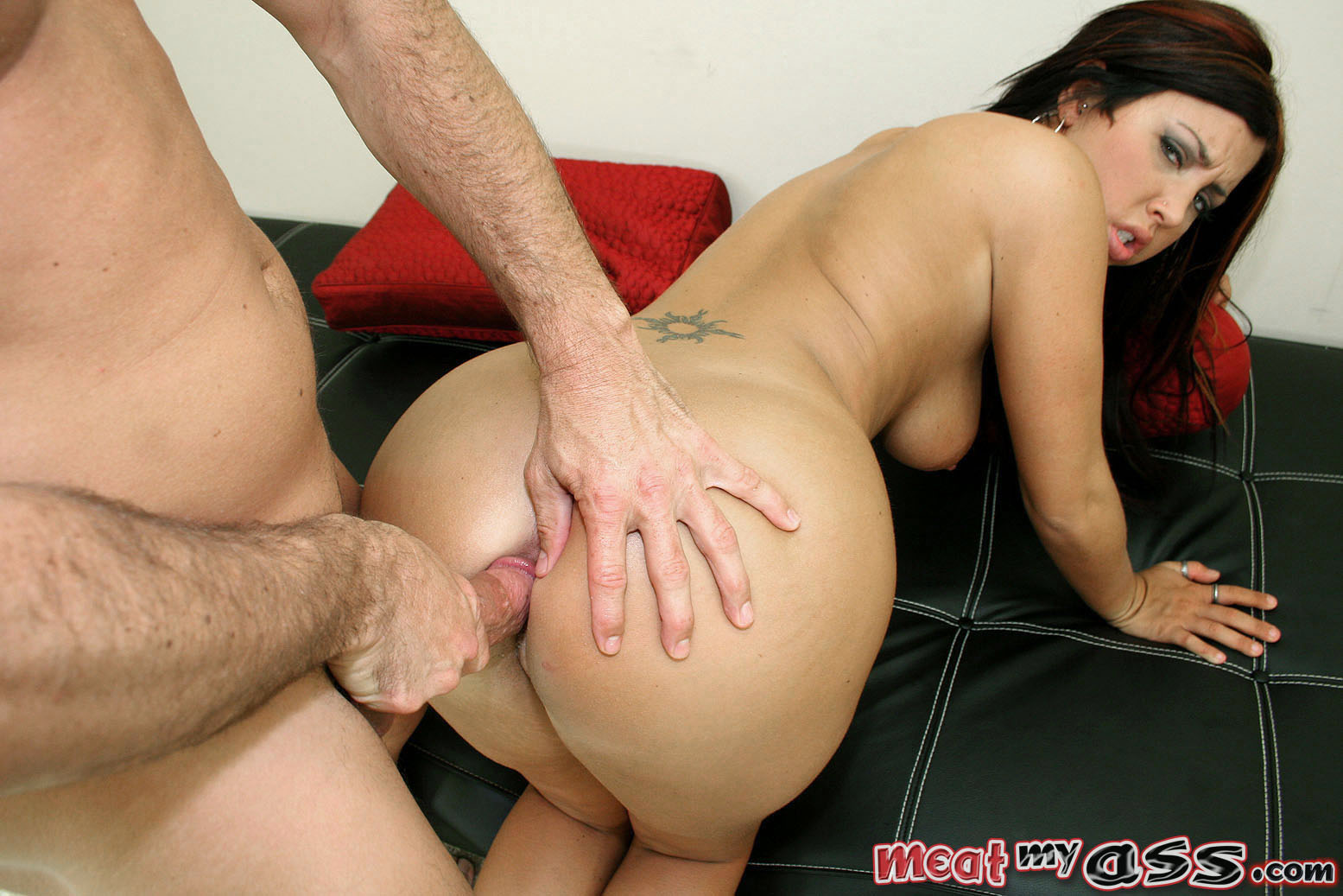 Meat My Ass - First time anal stretching at AmateurIndex.com