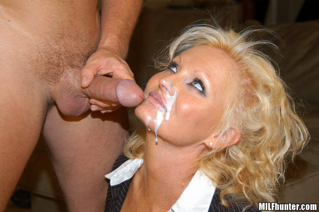throated facialized milf amateurs