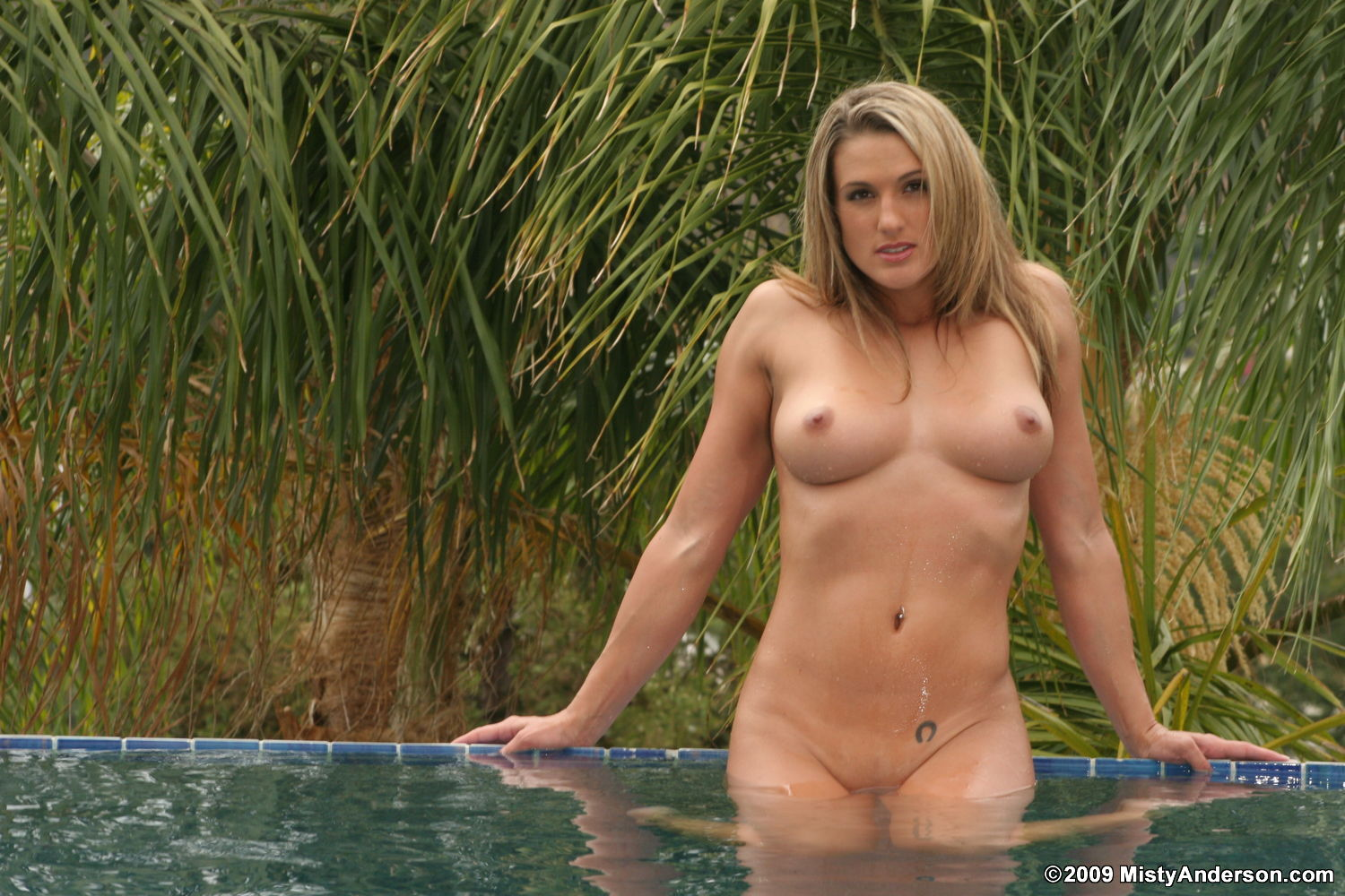 Nude babe hot tub all became