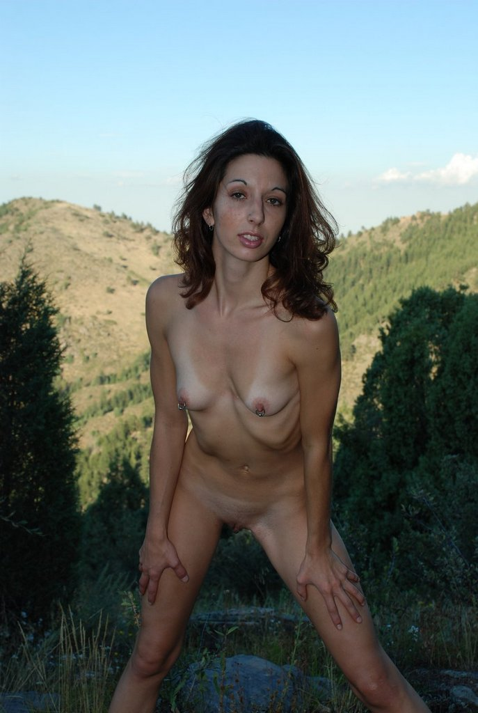 Real amateur couple sex outdoors