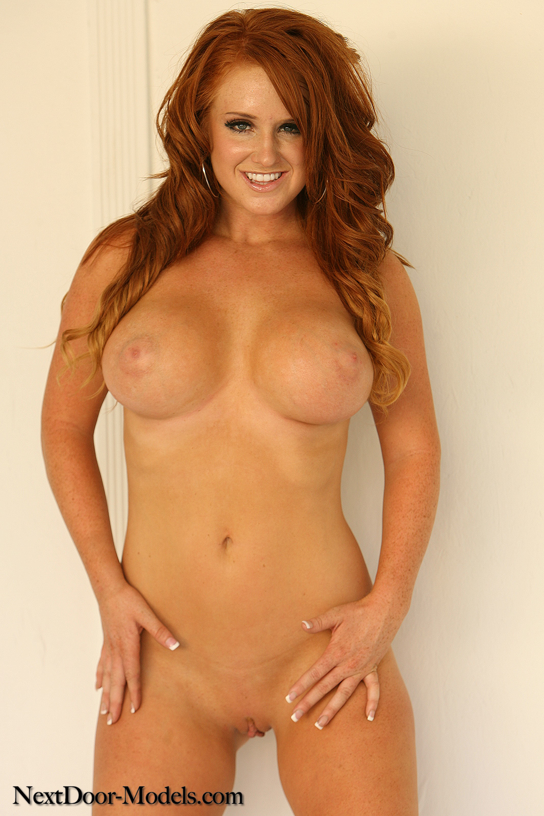 Hot Naked Redhead Woman