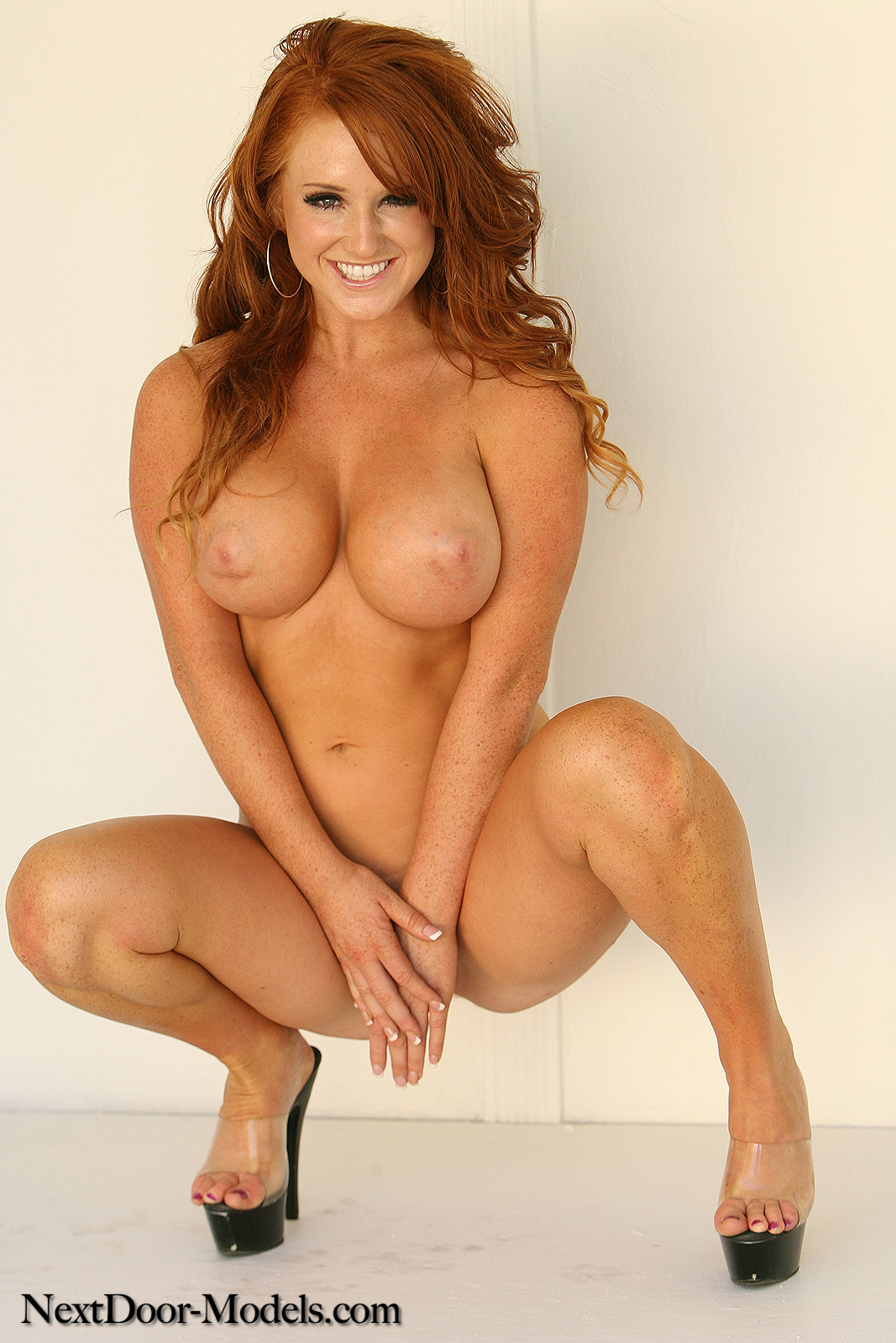 Redhead and busty brilliant