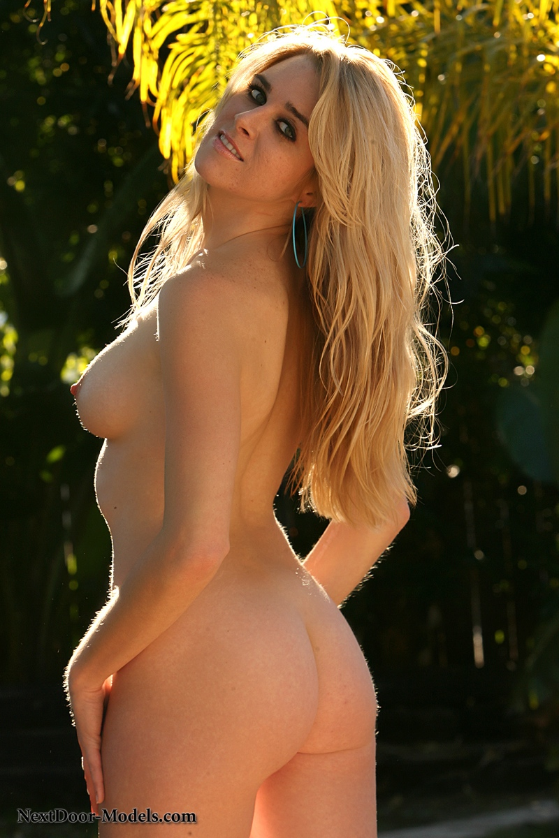 String bikini tease