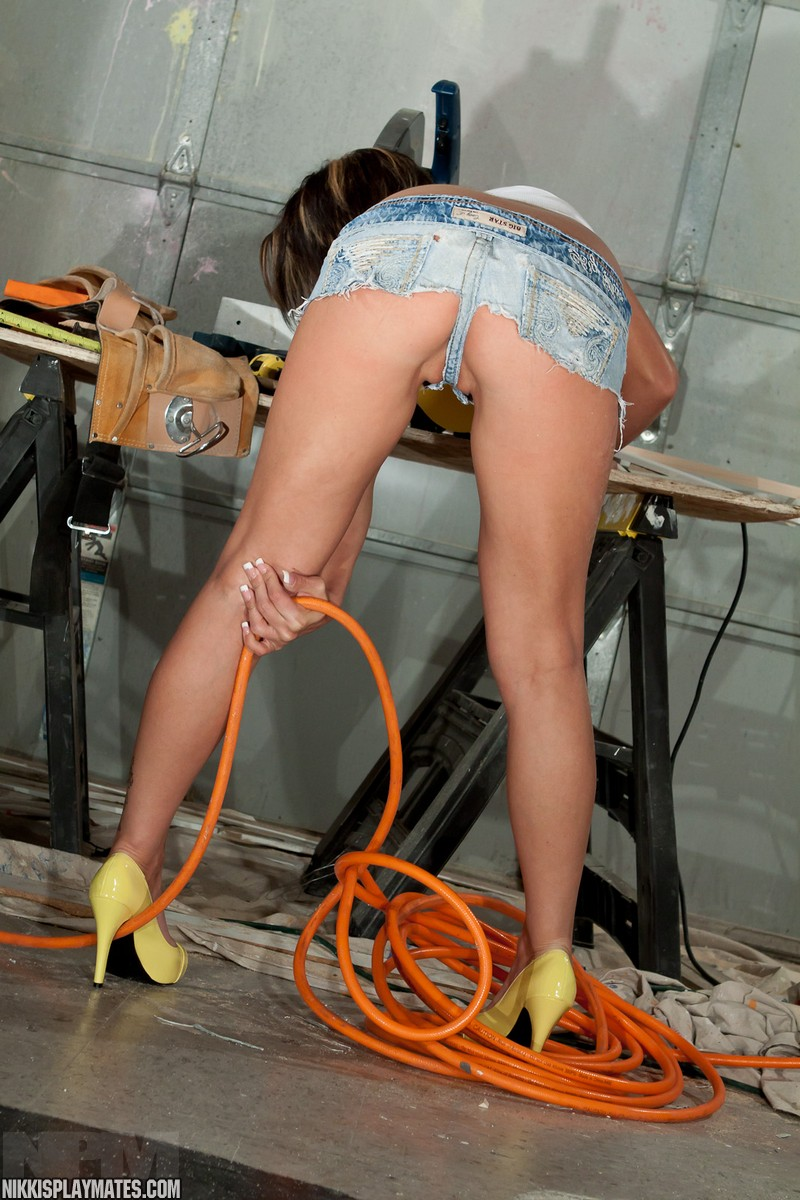 Think, hot sexy girl construction worker