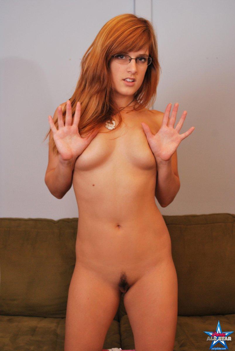 Amateur redhead masturbating