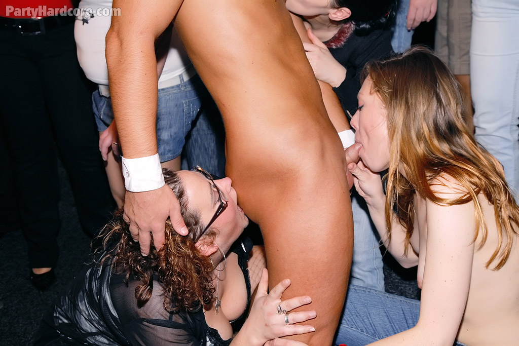 Sex Party Gets Hot