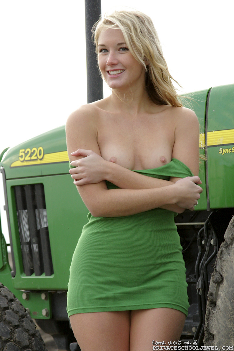 John deere with nude girl