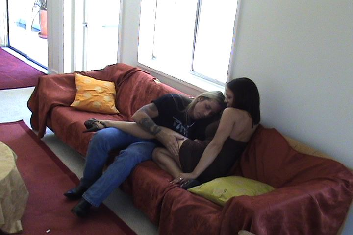 Black Couple Fucking Couch