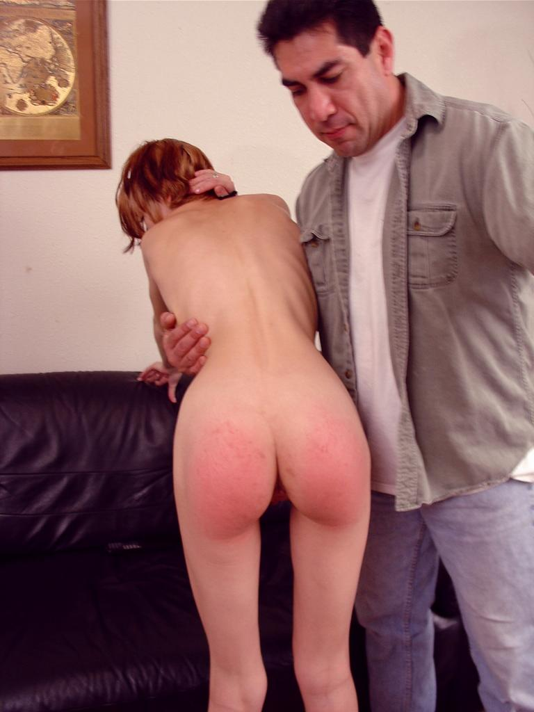 Girl gets punished by first time decide