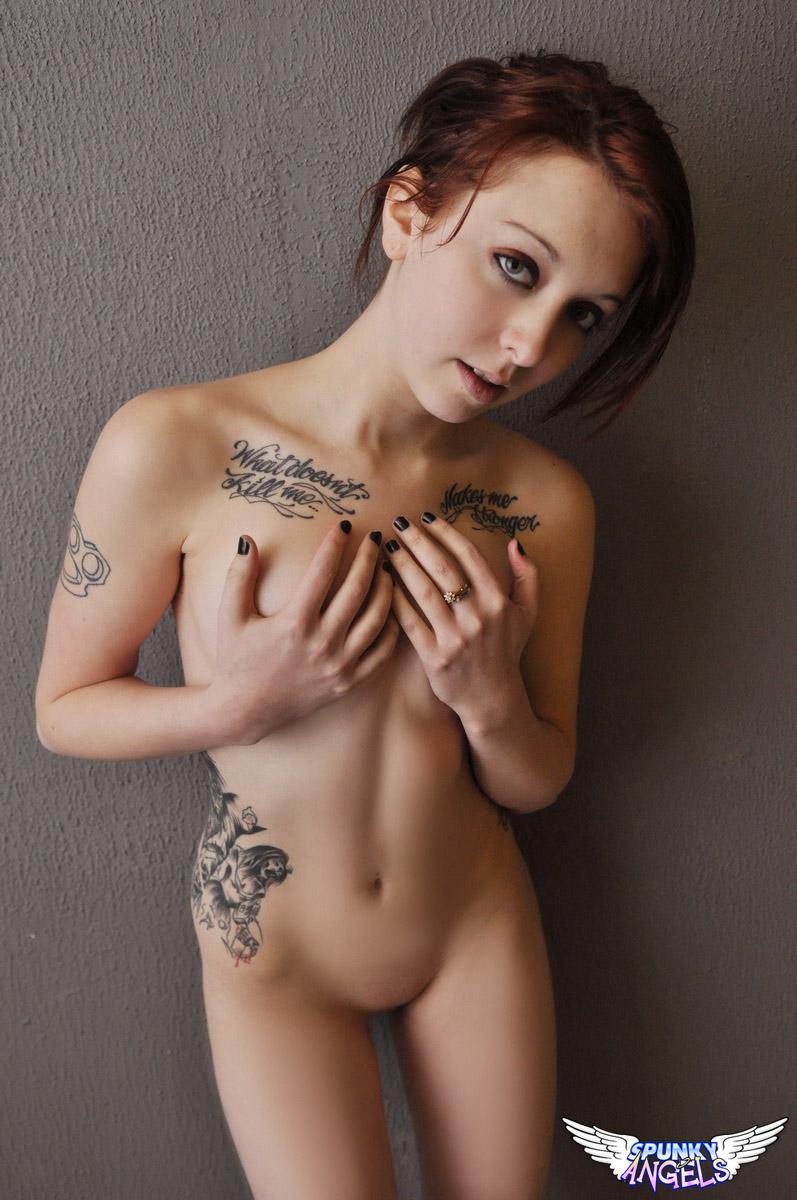 Spunky angels goth nude