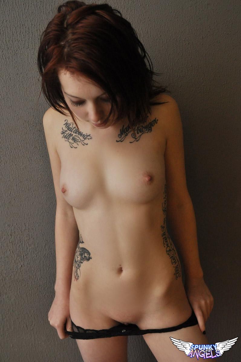 skinny goth girls naked porn
