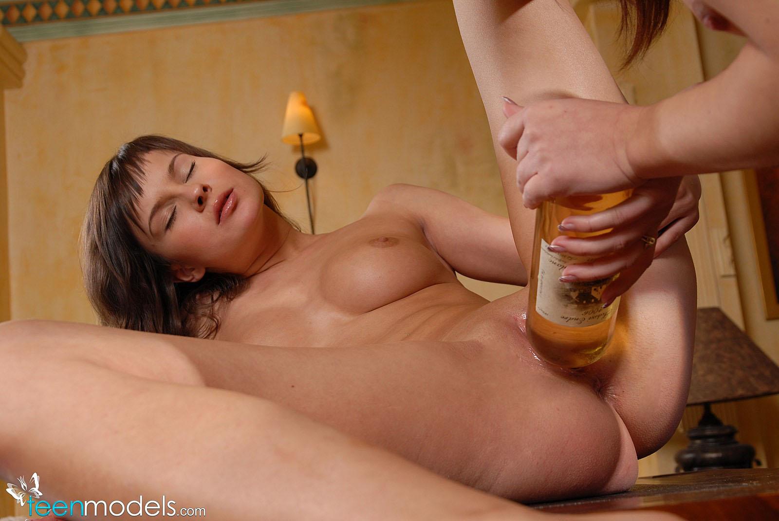 bbw amateur bottle sex