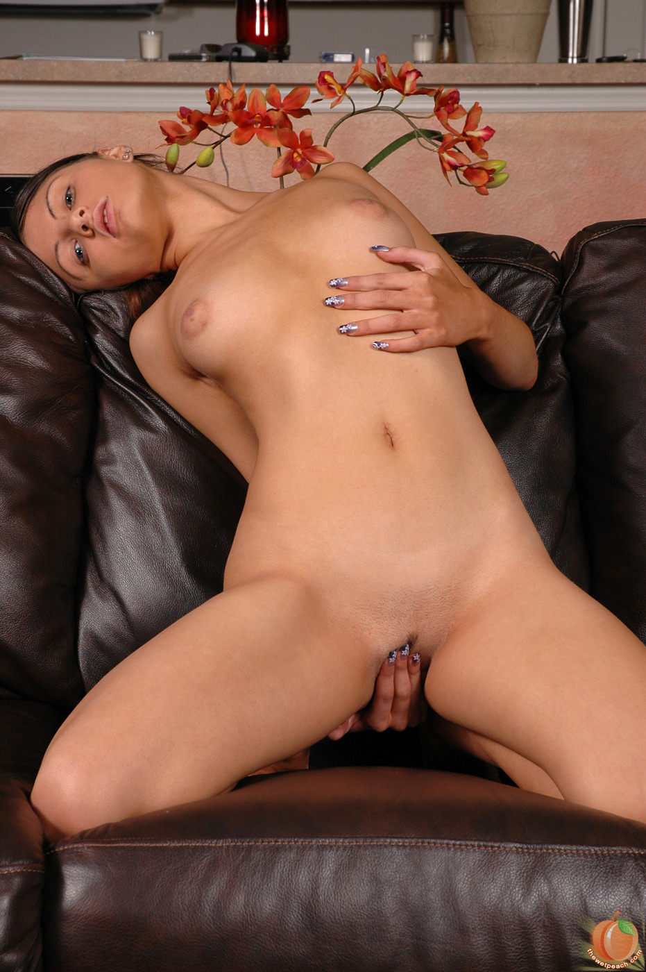 Hot mexican girl masturbating
