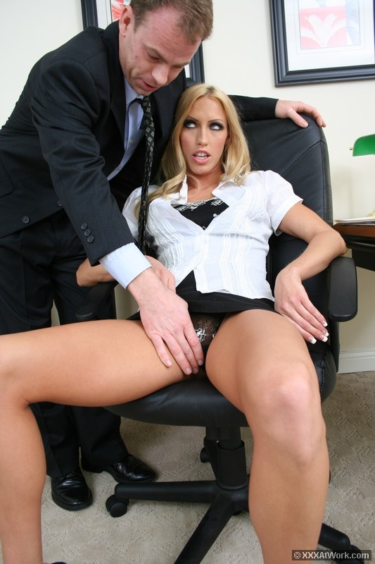 Blonde Office Sex 101