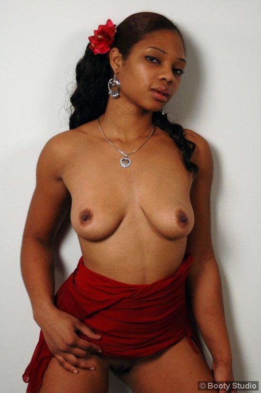 shy naked black girls