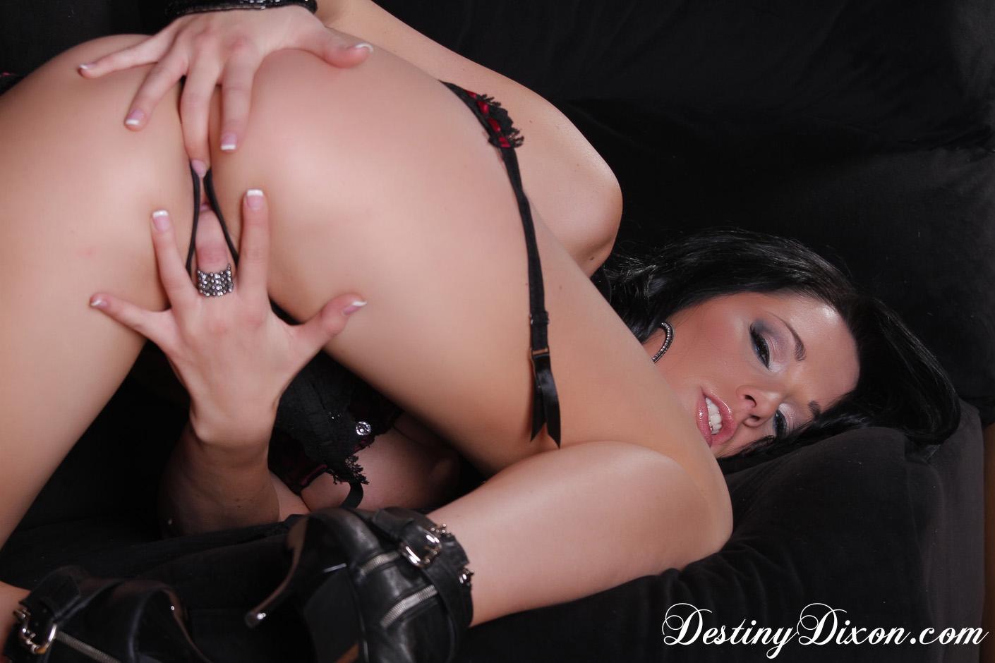 Destiny Dixon - Destiny Dixon Fingers Herself at AmateurIndex.com