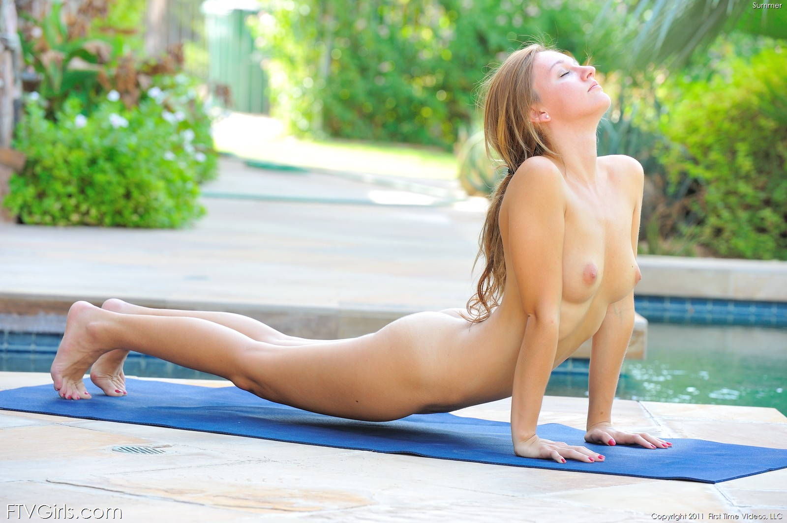 Nude Yoga Instructors