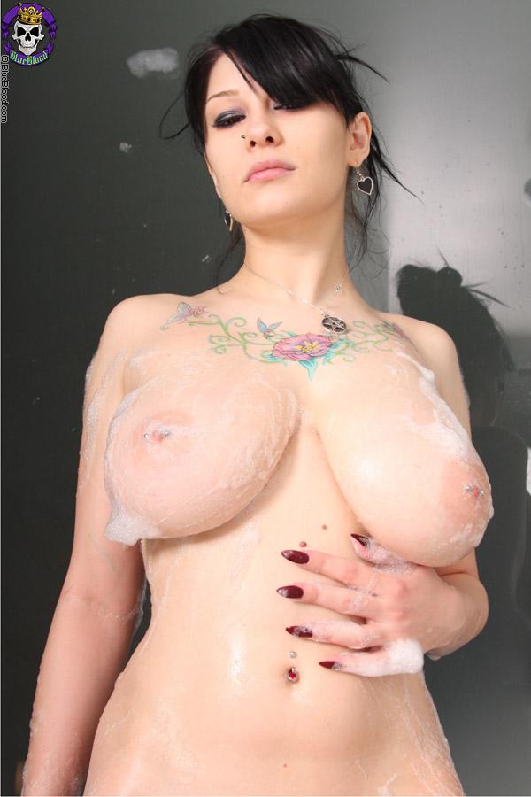 big tit goth