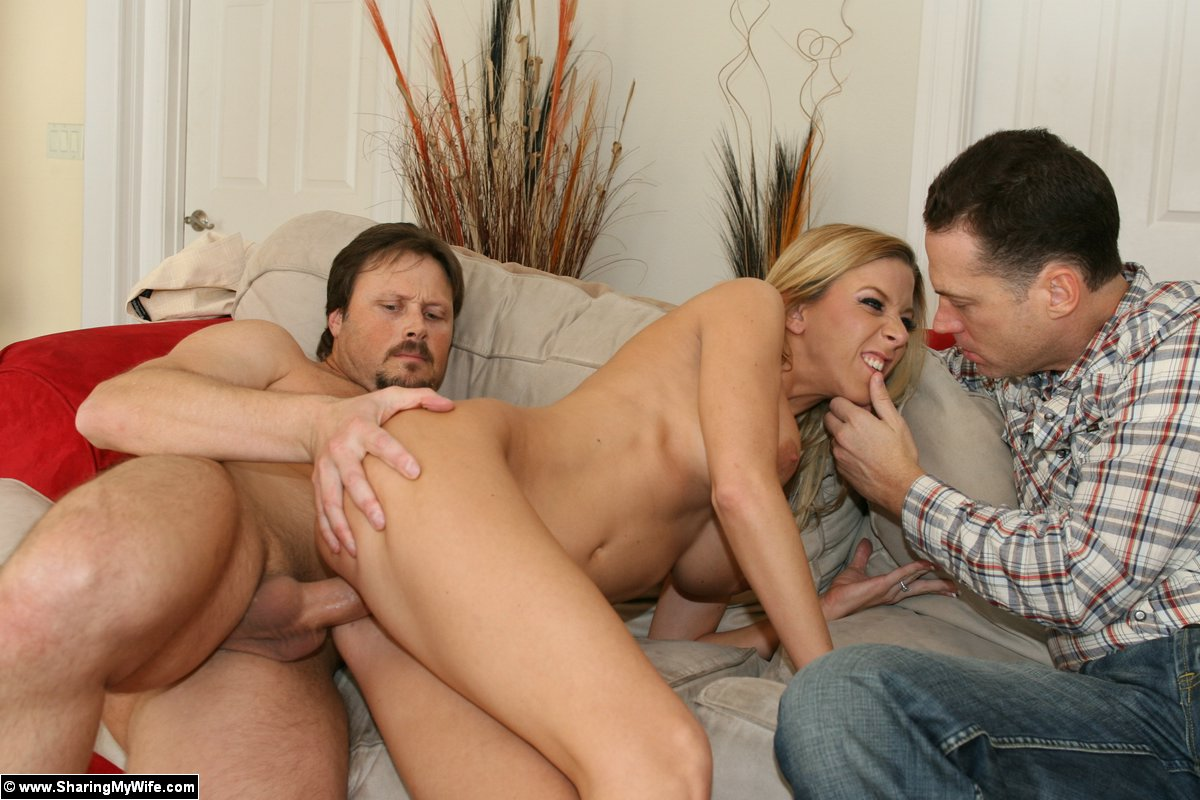 sharing naked wife