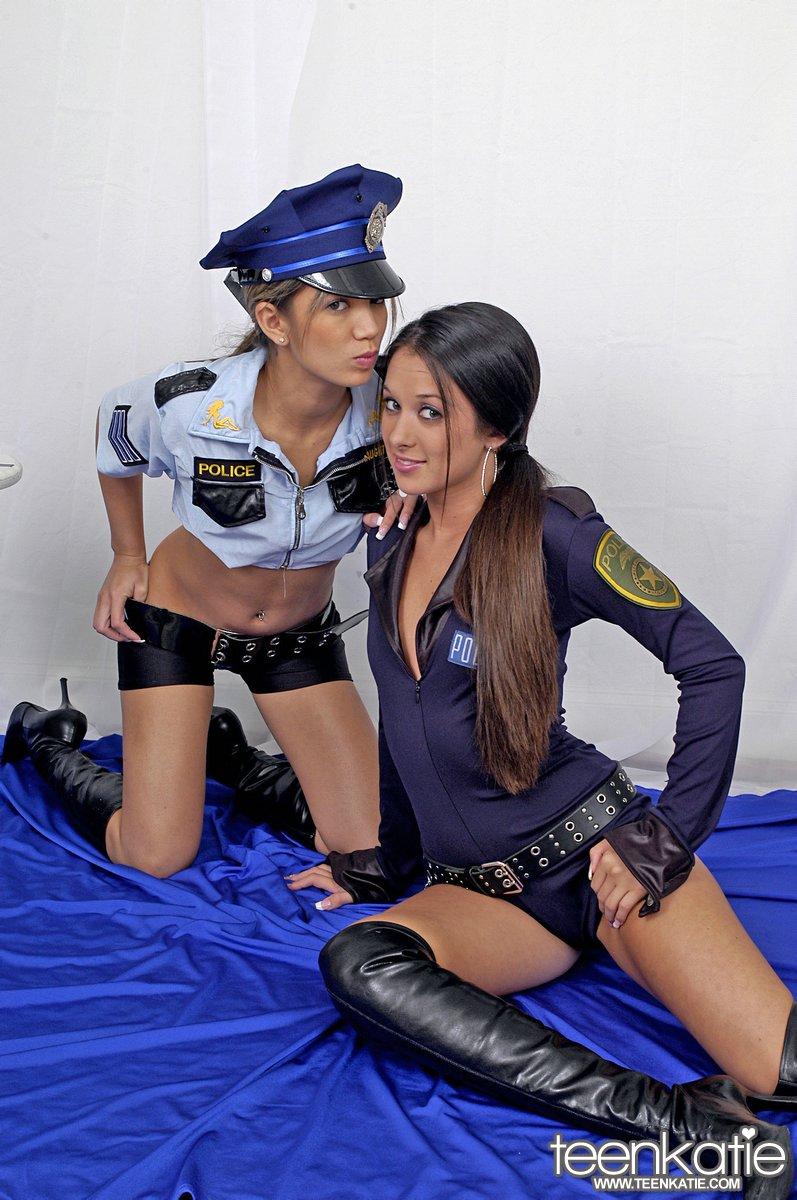 Hot lesbian cop sex